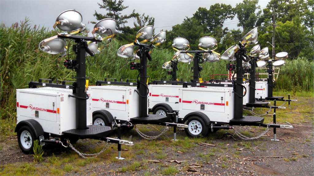 Light Towers, Compressors & Trailers